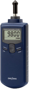 Contact type digital tachometer