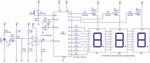 Digital Tachometer Circuit using 8051
