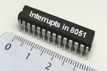 Interrupts in 8051 microcontroller