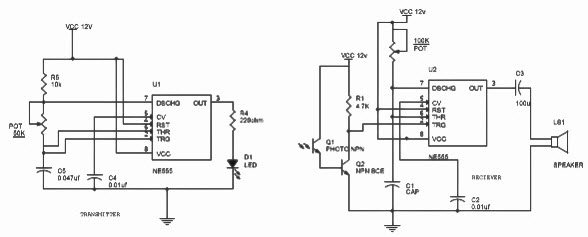 motion detector circuit with working description and its