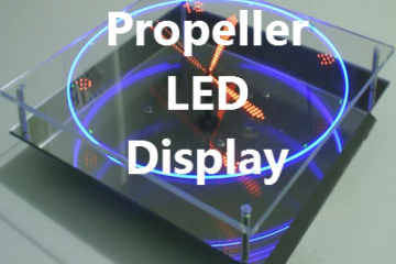 Propeller LED Display