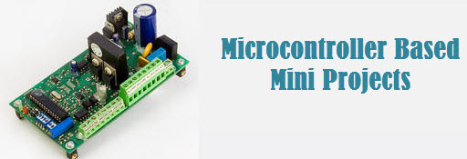Advanced Microcontroller based Mini Projects for Engineering