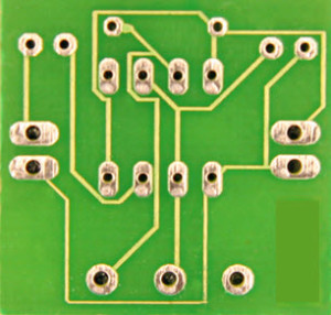 555 Timer Printed Circuit Board