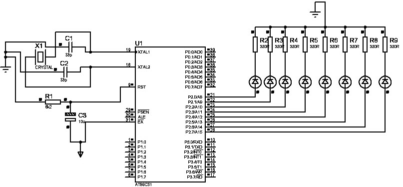 8051 Microcontroller 8-16 Bit Timers and Counters