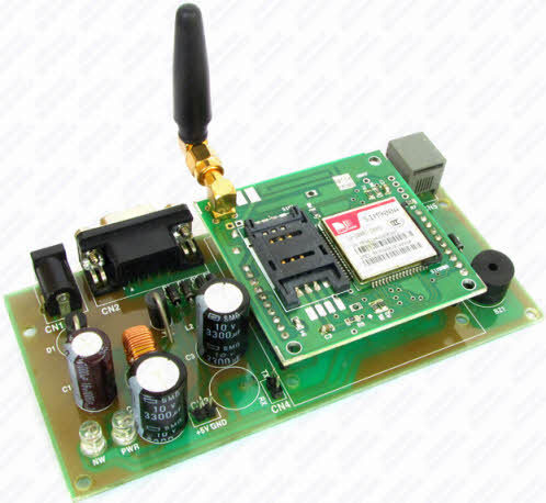 Gsm based home automation mini project