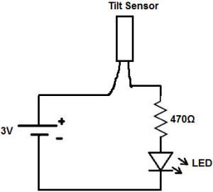 Tilt Sensor Circuit