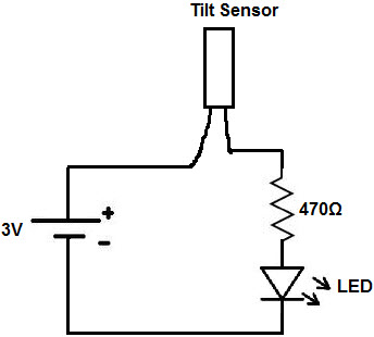 tilt sensor types working principle and its applications rh elprocus com MAF Sensor Wiring Diagram Garage Door Sensor Circuit Diagram