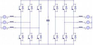 Voltage Source Inverter Converter