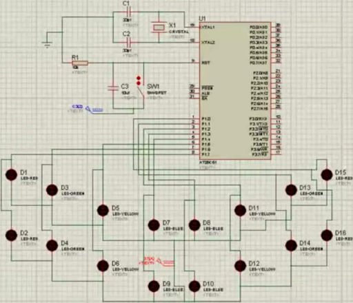 Know About Operation Of 8051 Microcontroller Based
