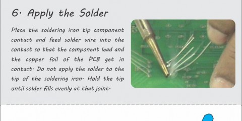 12 Ways to Learn Good Soldering Process for Designing Electronic Circuits