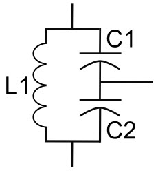 Tank Circuit with Capacitors and Inductors