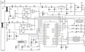 Watt Hour Meter Circuit Using Microcontroller