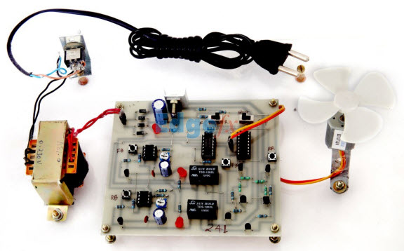 DC Motor Control Circuit from EDGEFX TEchnologies