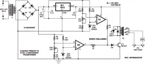 Overvoltage Protection Circuit using Comparators