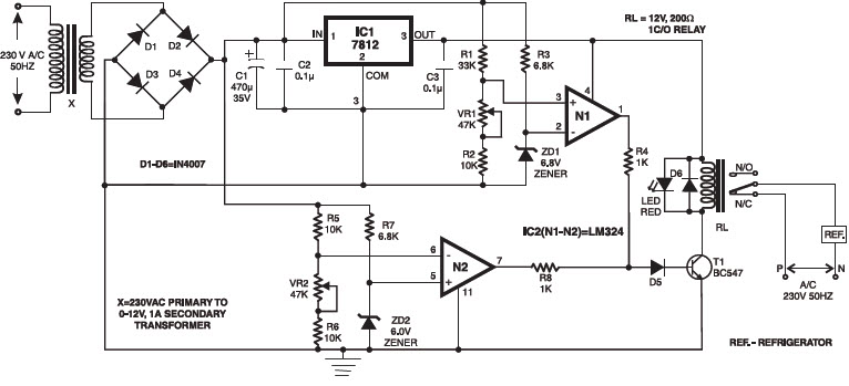 under and overvoltage protection circuits and workings rh elprocus com