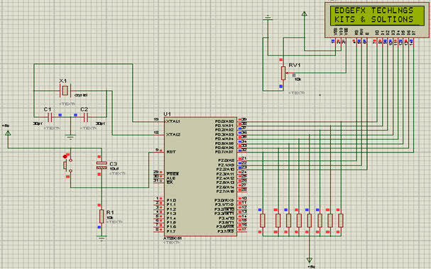 LCD Programming with 8051 Microcontroller