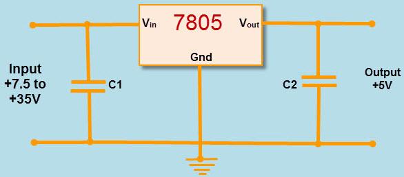 7805 Regulator