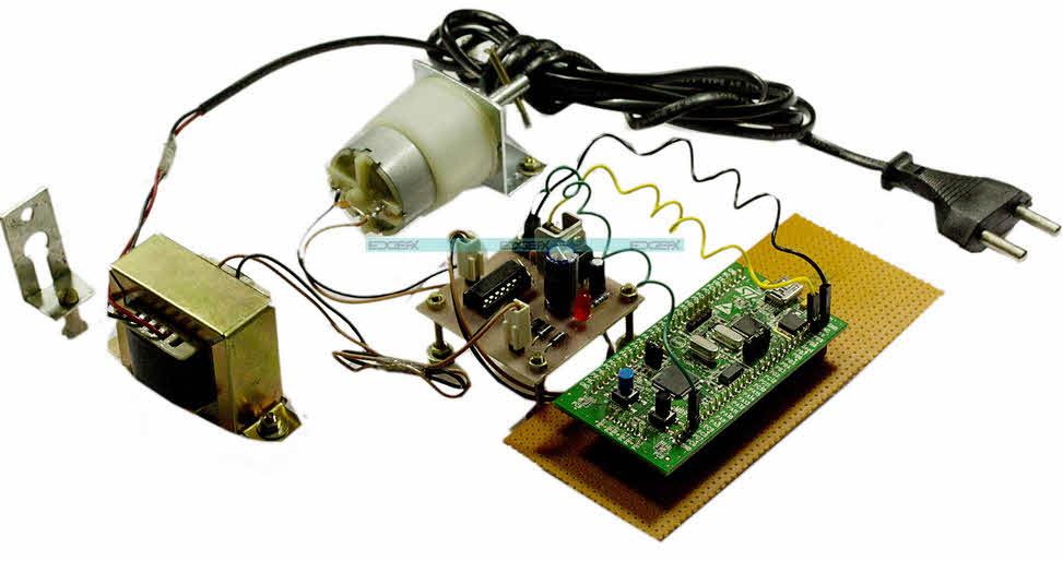ARM Cortex Based Motor Speed Control by Edgefxkits.com