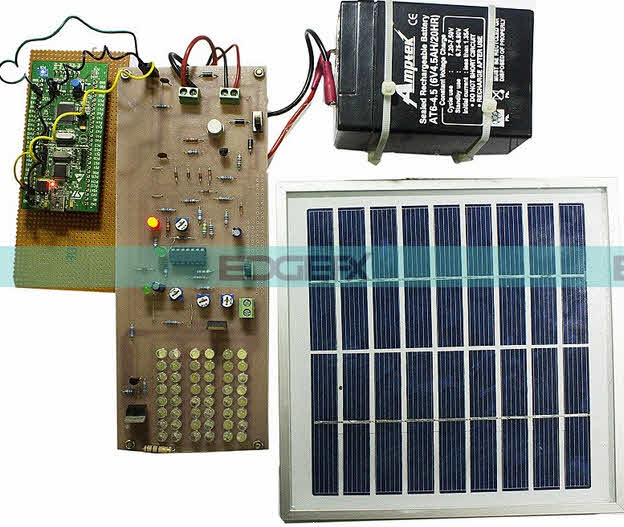 ARM Cortex (STM32) based Solar Street Light