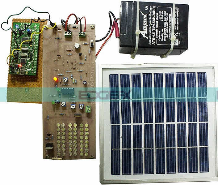 ARM Cortex (STM32) based Solar Street Light by Edgefxkits.com