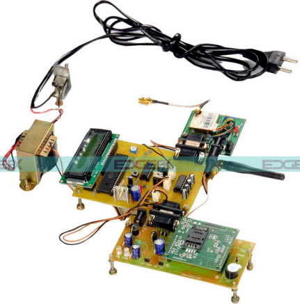 Embedded System for Vehicle Tracking by Edgefx Kits