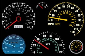 Microcontroller based Electrical Projects -Odometer-Cum-Speedometer