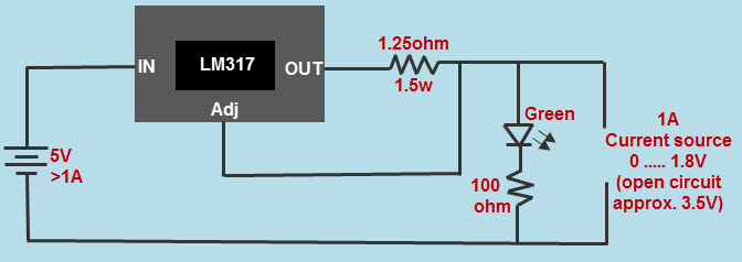 LM317 Current Regulator