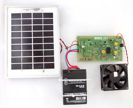 Solar Charge Controller Using IC