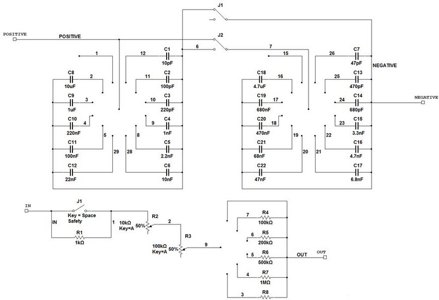 How to Build a Resistor/Capacitor Selection Box?