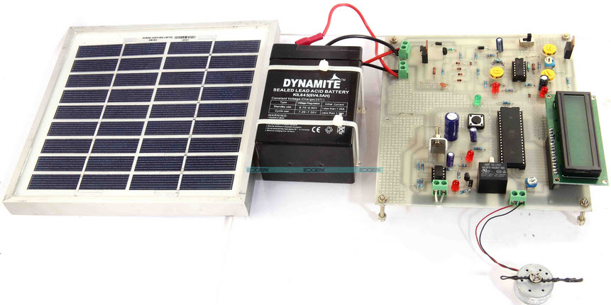 Solar Powered Auto Irrigation System Project Kit by Edgefxkits.com