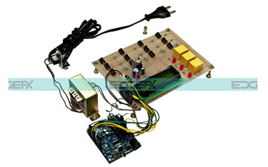 Arduino Based Underground Cable Fault Detection Project kit by Edgefxkits.com
