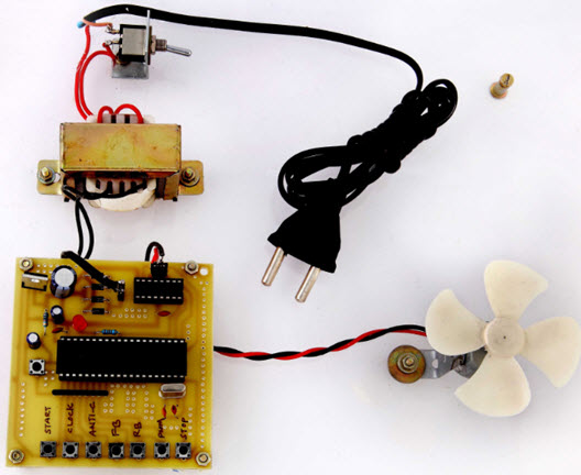 DC Motor with PWM Speed Project kit by Edgefxkits.com
