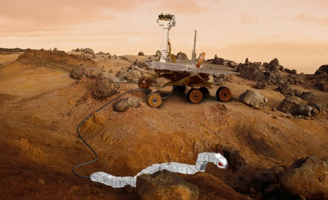 Modular Reconfigurable Robots used in Space Applications