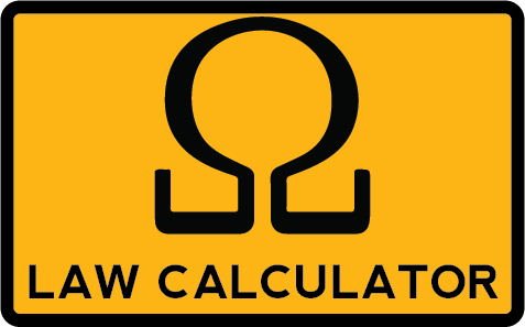 Ohms law calculator