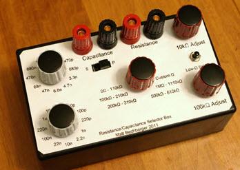 Resistor/Capacitor Selection Box