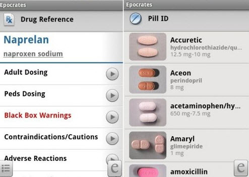 Android System based Prescription Viewer App