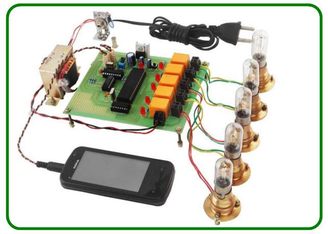 DTMF based Load Control System
