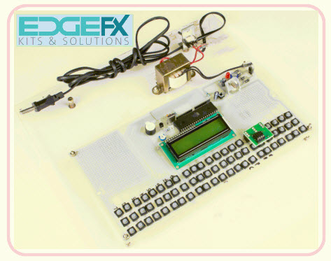EVM-Electronic Voting Machine Project Kit by Edgefxkits.com