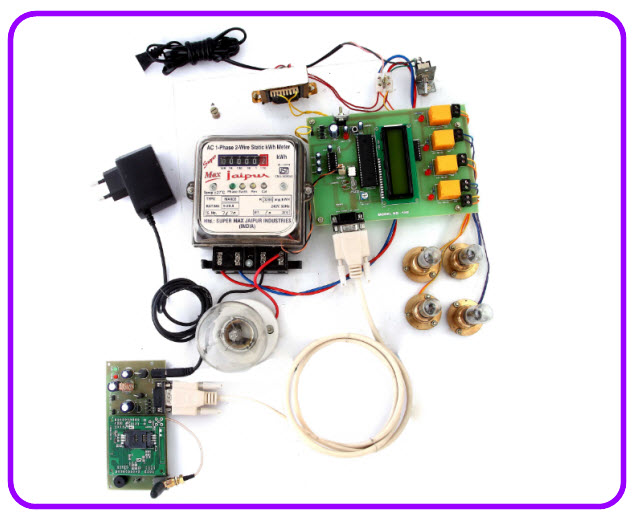 Energy Meter Billing with Load Control over GSM with User Programmable Number Features