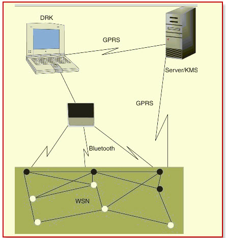 Mobile and Wireless Sensor Network