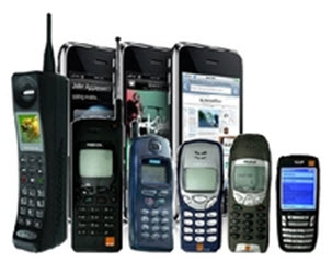 different types of mobile communication devices