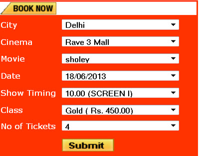 .Net based Online Ticket Booking System