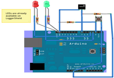 Computer Temperature Sensor with Arduino and LM335