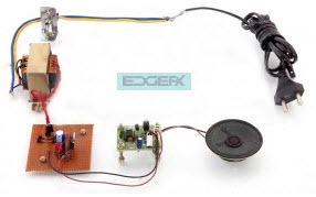 Wire Loop Breaking Alarm Signal Project Kit by Edgefxkits.com