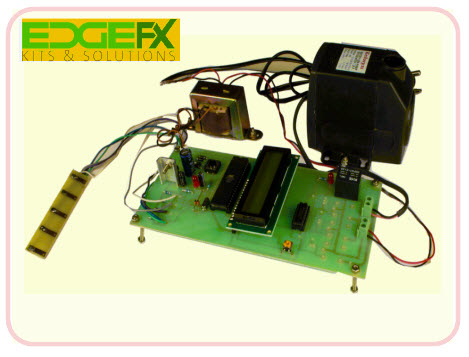 Water Level Controller using Microcontroller project Kit by Edgefxkits.com