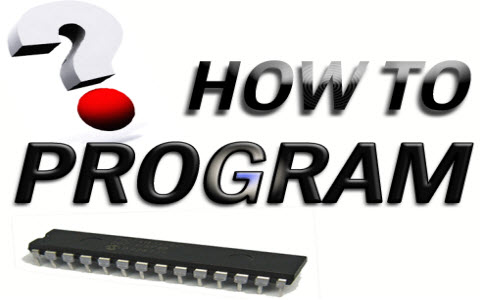 Burn a Program in the Microcontroller
