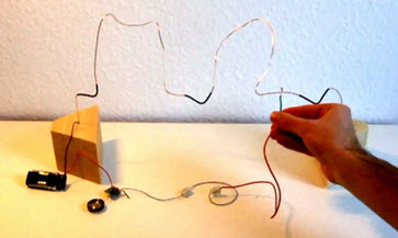wire loop game how to make a wire loop game circuit? wire loop game circuit diagram at n-0.co