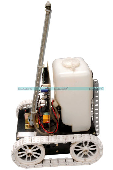 Fire Fighting Robot Remotely Operated by Android Project kit by Edgefxkits.com