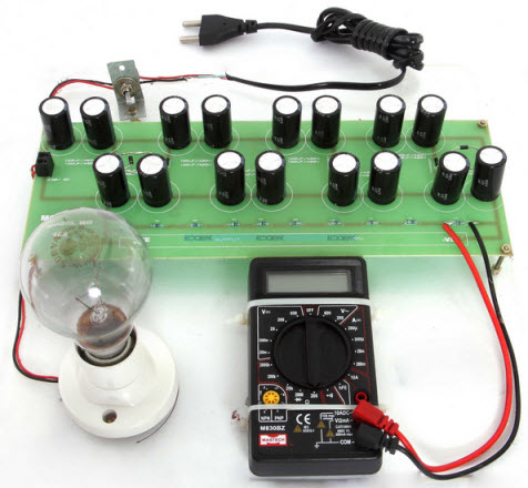 High Voltage DC Using Voltage Multiplier Circuit Project Kit by Edgefxkits.com