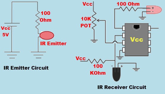 IR Sensor with Circuit
